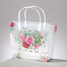 (100 шт./лот) ПВХ свадебный подарок сумки