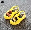 2016 Muchachas Del Verano Sandalias de La Jalea de Mini Melissa Zapatos Lindos Zapatos de Las Muchachas Niños Mitch Zapatos de Bebé Para La Muchacha EU24-29 US8-11.5