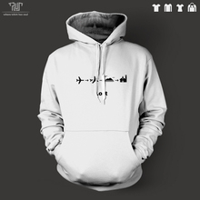 TV series LOST men unisex pullover hoodie heavy hooded sweatershirt 82% organic cotton fleece inside high quality free shipping
