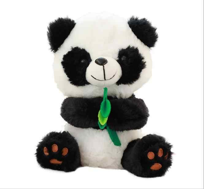 Лучший подарок на праздник, игрушка для детей, электронный питомец, панда, медведь, одна фигурка, панда, может повторять ваши слова, медведь, поет одну энглиhsh песнь