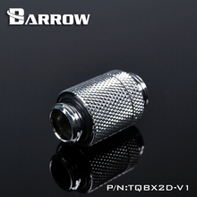BARROW G1/4 Male to Rotary Connectors / Extender 20.2mm M Fitting Computer Accessories Metal Fittings