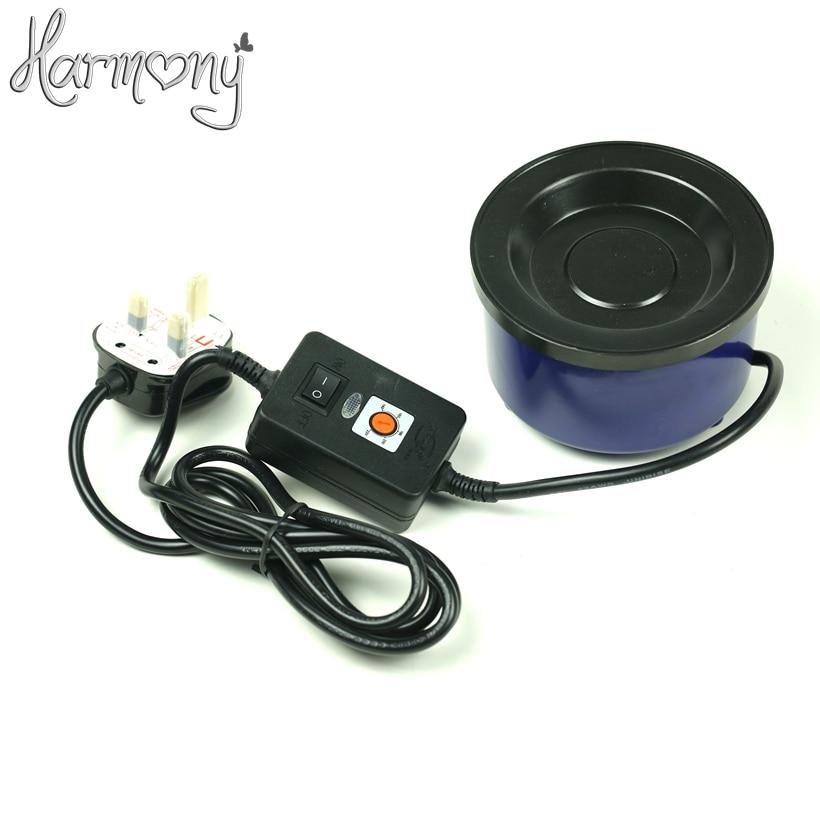 1 piece Temperature control Fusion Melt Hot Pot 80W Keratin Glue Melting Pot Keratin Glue Pot Hair Extension Machine
