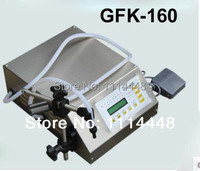 Free Shipping GFK 160 Digital Control Liquid Filling Machine 5 3500ml For Mineral Water Juice Beverage