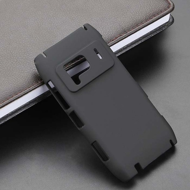 For Nokia N8 N8-00 New High Quality Black Color Plastic Net Design Hard Phone Cases Back Cover