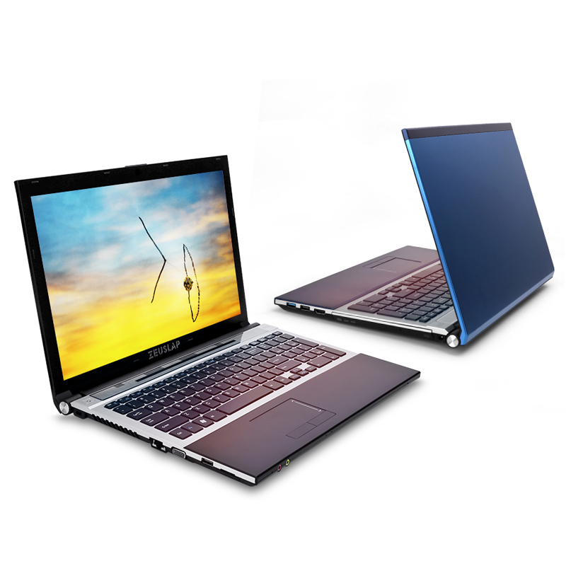 15 6inch intel dual core i7 8GB RAM 128GB SSD 1TB HDD 1920x1080P WIFI bluetooth DVD