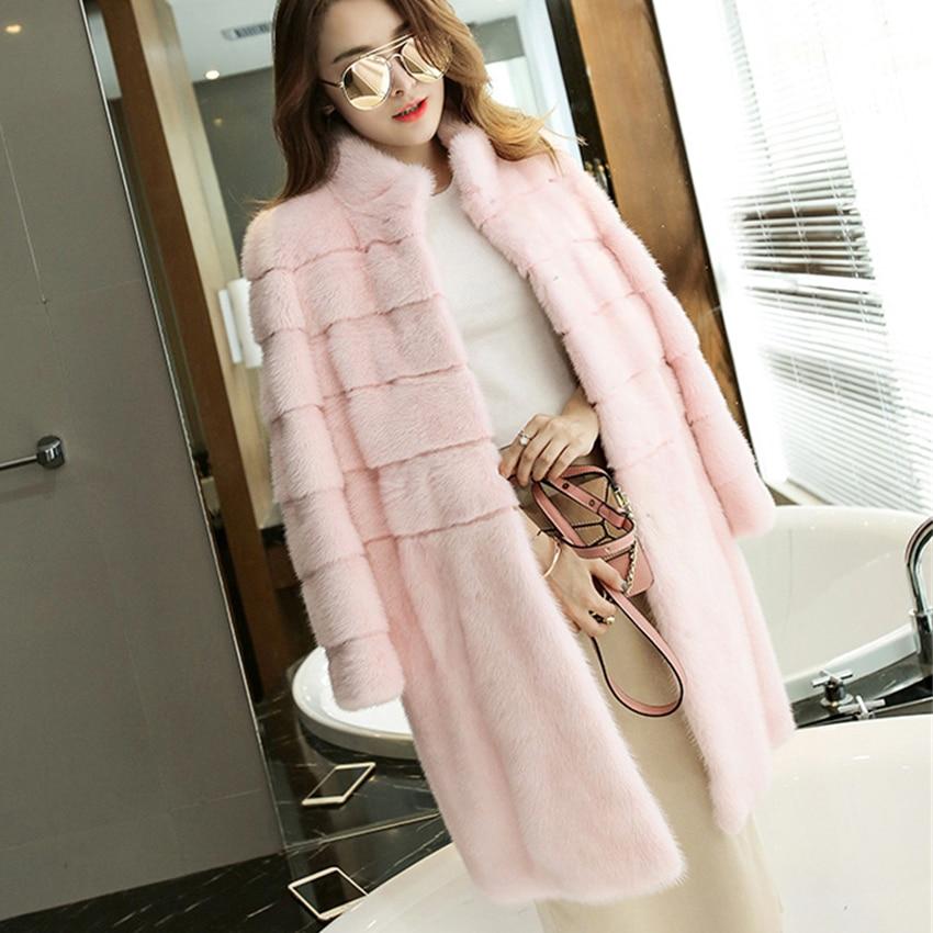 Women Luxury Brand Fur Coat Winter Women Long Faux Fur Coats Furry Lady Fake Fur Coat Jacket High Quality Abrigo Pelo Mujer