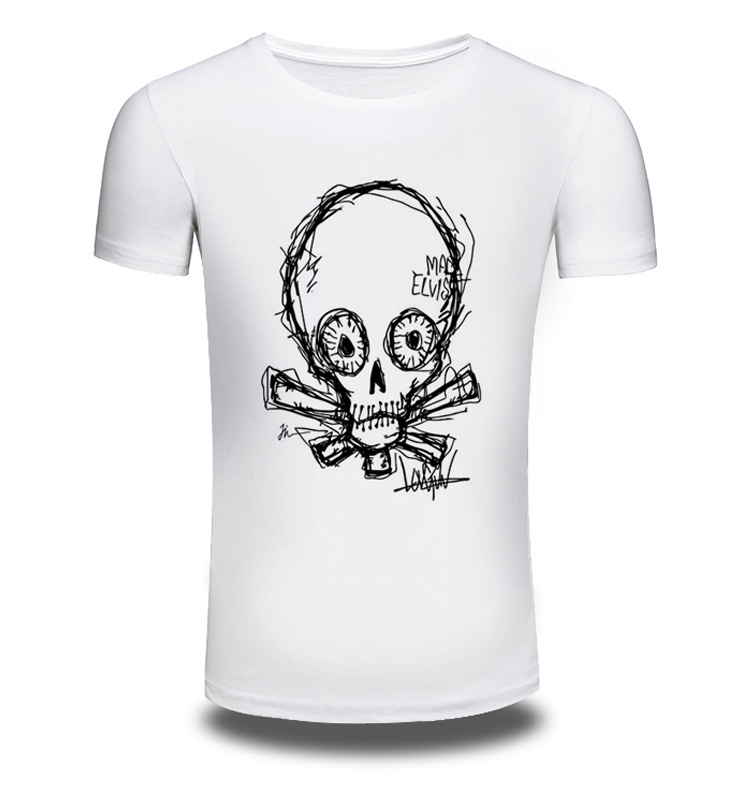 Men/Women Summer Fashion Short Sleeve Brand Clothing T Shirt 3D Print Shirt Alien T-shirt Animal White T-shirts Top Tee AW087