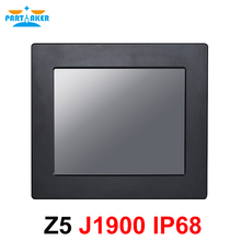 IP68 Full Waterproof 10.4 Inch Industrial Panel PC All in One Resistive Intel J1900 Touch Screen