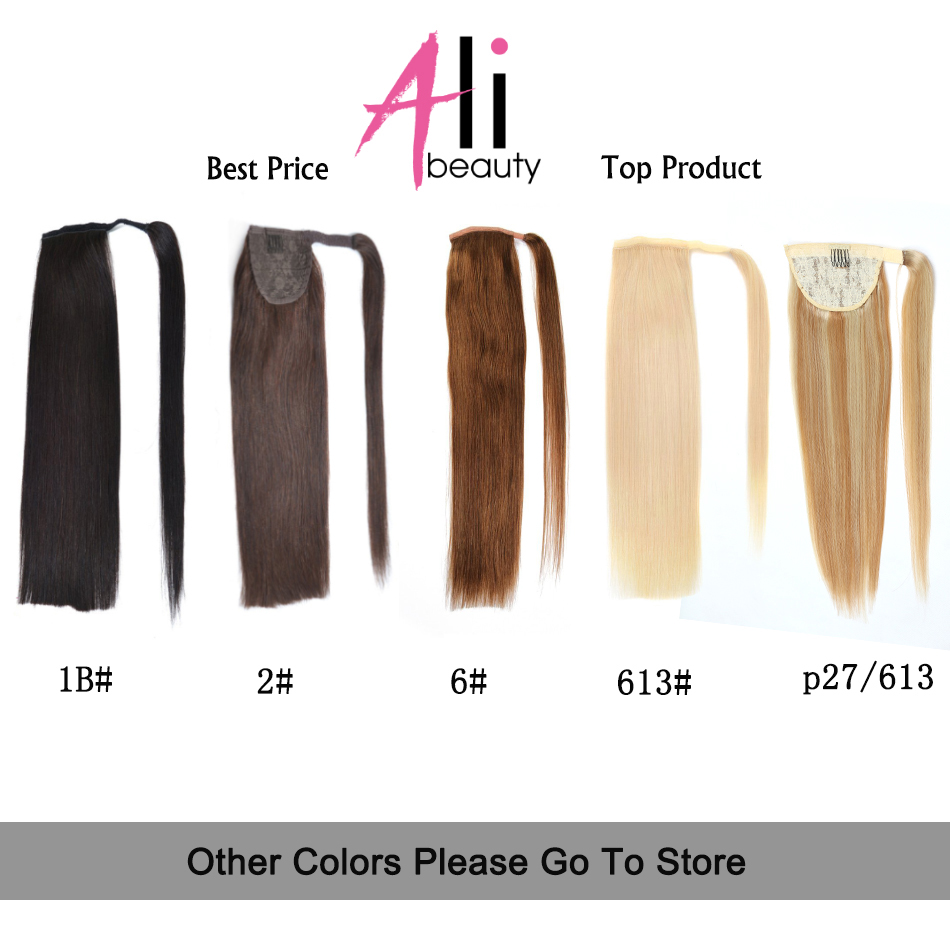 Online shop ali beauty human hair ponytail european straight hair online shop ali beauty human hair ponytail european straight hair extensions 120gram wrap around clip in pony tail remy hair 12 26 inches aliexpress pmusecretfo Choice Image