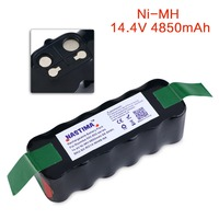 NASTIMA Battery Extended Capacity 4850mAh Compatible With Roomba 500 600 700 800 Series Vacuum Cleaner Robots