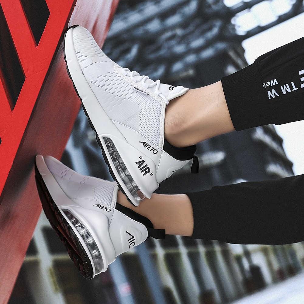 Mannen Loopschoenen Nieuwe Merk Vrouwen Sportschoenen Ademend Air Sole Mesh Lace-Up Outdoor Hoge Kwaliteit Schoeisel Trainer sneakers 35