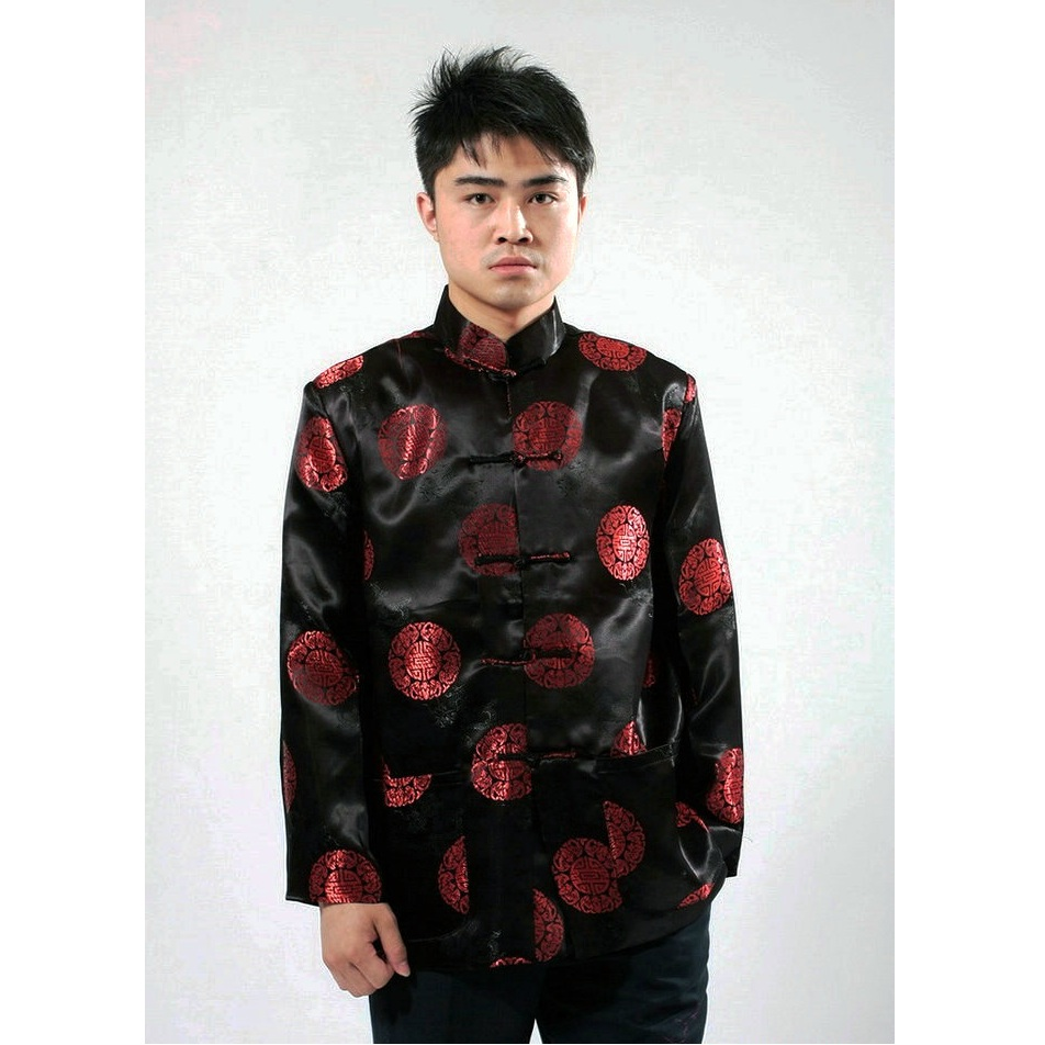 46f0f2a345ca5 2019 traditional chinese clothing for men Top tang suit New Year Gift Party