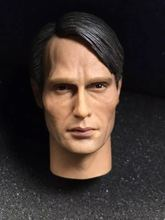 Custom 1/6 Scale Hannibal Mads Mikkelsen Galen Erso Head Sculpt Fit 12 Body Action figures ELEVEN TV