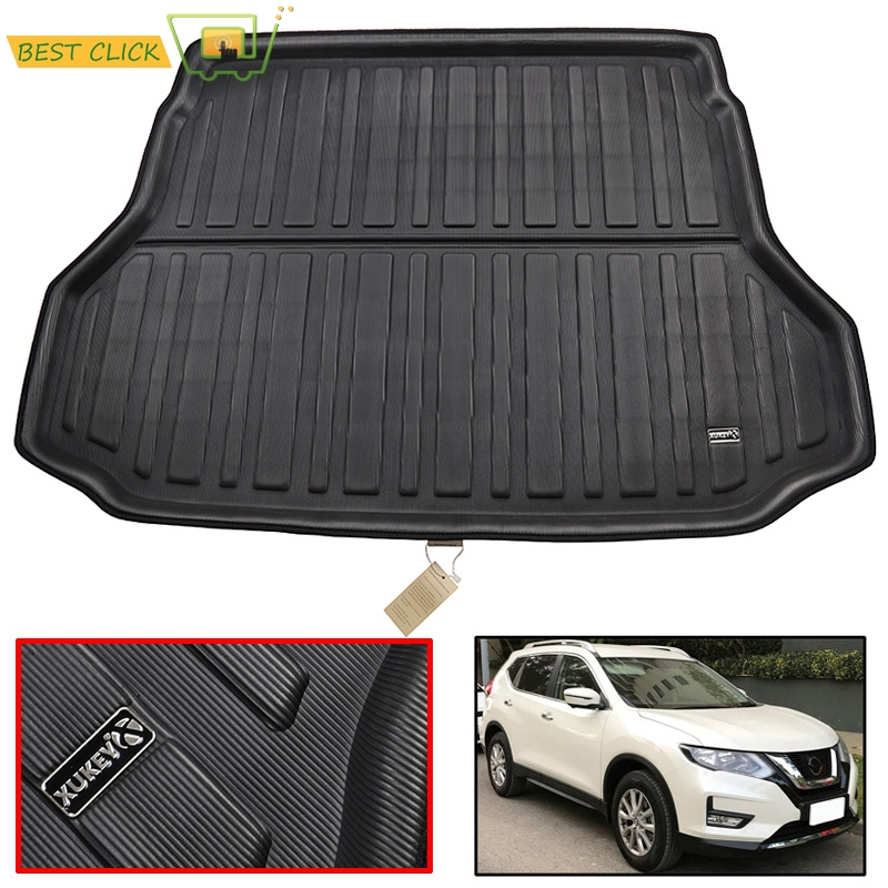 Automobiles & Motorcycles For Nissan X-trail Rogue Xtrail 2014 2015 2016 2017 2018 Rear Boot Liner Trunk Cargo Mat Tray Floor Carpet Protector Mud Kick Floor Mats