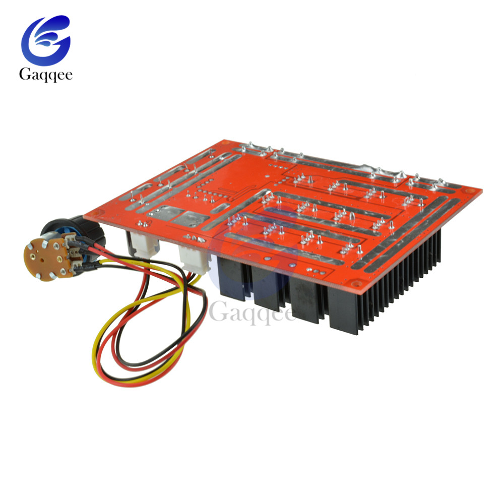 Adjustable 10-50V 60A DC Motor Speed Controller PWM HHO RC 12V 24V 48V  3000W Regulation 5-100% With Extension Control Switch