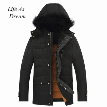 2019 High Quality 90% White Duck Down Jacket men coat Snow parkas male Warm Brand Clothing winter Down Jacket Outerwear Down Jackets
