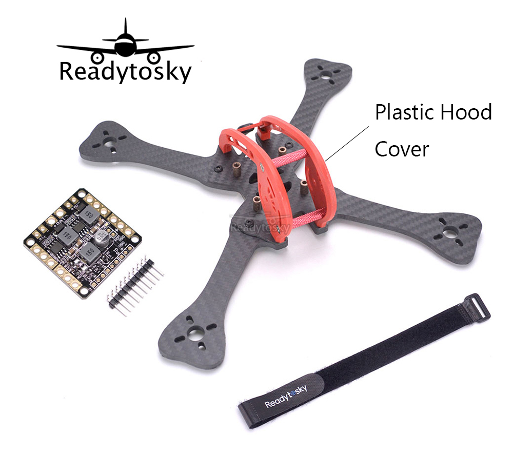 FPV DIY Mini Carbon Fiber 220 220mm quadcopter frame Distribution board PDB for Leopard GEPRC GEP-LX5 GEP LX5 new qav250 v2 carbon fiber fpv mini quadcopter frame kit pdb board