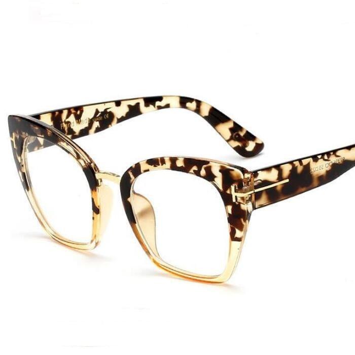 COOLSIR Oversize Women Square Sunglasses Brand Designer Fashion Gradient Clear Lens Sun Glasses UV400 in Women 39 s Sunglasses from Apparel Accessories