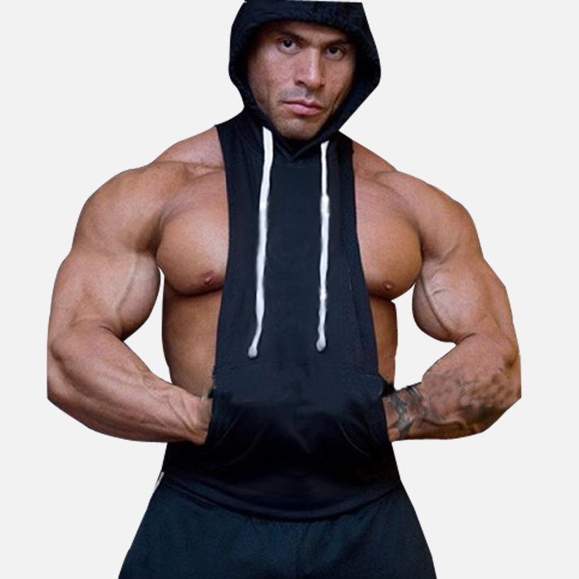 Compare Prices on Sleeveless Gym Hoodie- Online Shopping/Buy Low ...
