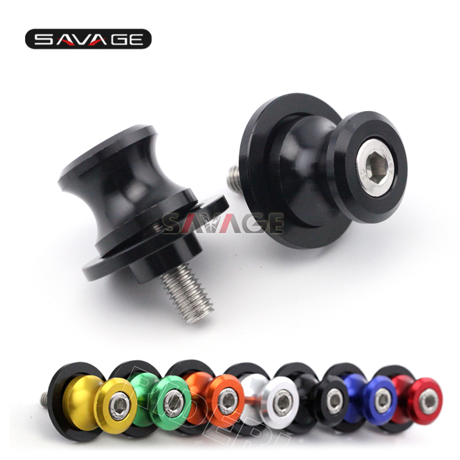 Swingarm Spools Slider Stand Screw For DUCATI Multistrada 950 2017-2018 Motorcycle Accessories CNC M8