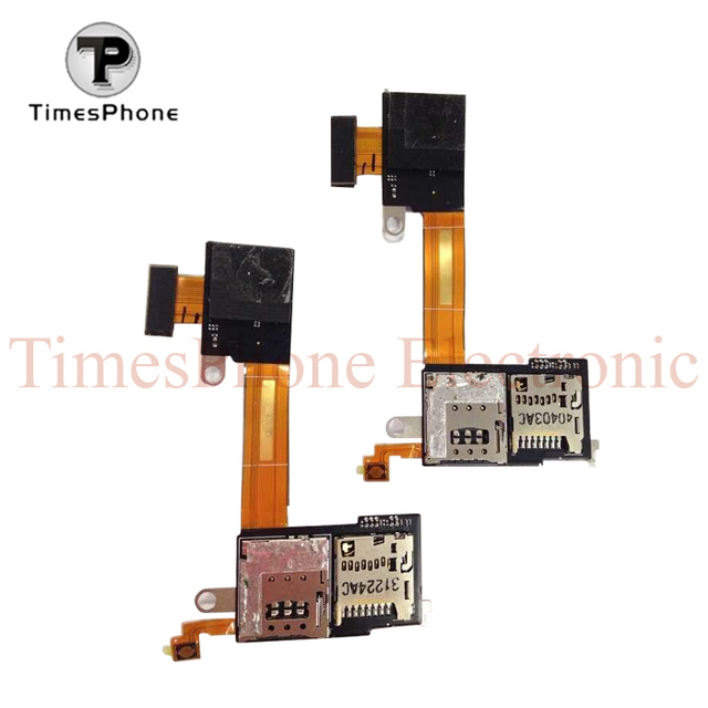 Original Sim Card Slot Tf Card Slot Pcb Flex Cable For Sony Xperia