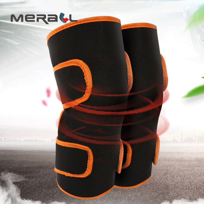 Heating Adjustable Kneepads Support Knee Arthritis Pain Relieve Health Care Protection Joints Varicosity Physiotherapy Massager недорго, оригинальная цена