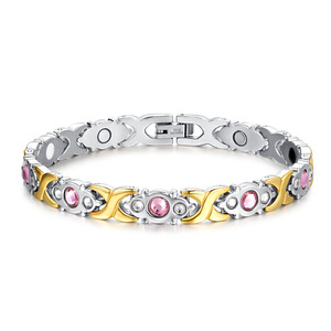 Magnets Health Jewelry Pink Zi