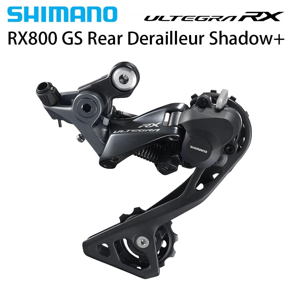 NEW Shimano Ultegra RX RD RX800 GS 2x11-speed Road Bike Rear Derailleur  Shadow+ ClutchNEW Shimano Ultegra RX RD RX800 GS 2x11-speed Road Bike Rear Derailleur  Shadow+ Clutch