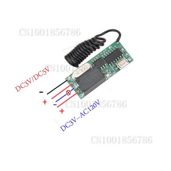 USD ワイヤレスリモート制御リモートスイッチ3ボルト5ボルトdc Limo 割引価格