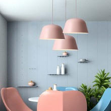 BOKT Nordic Loft Pendant Lights E27 LED Modern Hanging Lamp Design DIY For Bedroom Living Room Kitchen Restaurant Home Lighting