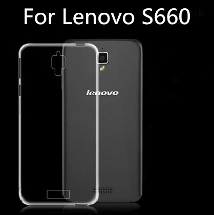High Quality Super Thin Clear Transparent Soft Case For Lenovo S660 case Protective Phone Case For Lenovo S660