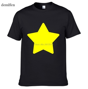 Steven Universe - Lion - Mens Printing T Shirt Personalized Tees Tops Man Short Sleeve Cotton T Shirt(China)