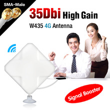 White 4G 35dBi External Antenna SMA-Male Connector Signal