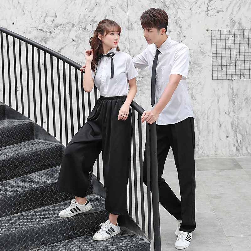 Japanese High School Uniforms Students Class Service For Girls And Boys Long Sleeve Summer Suits Women Men Jk Cosplay Uniform