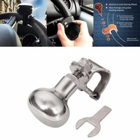 Universal Stainless Steel Steering Wheel Spinner Heavy Duty Car Truck Marine Boat Handle Suicide Power Knob