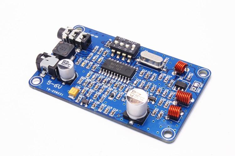 Модуль fm-передатчик bh1417 FM стерео двухканальный беспроводной передатчик 200 м 0.5 Вт качество звука