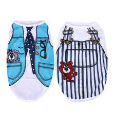 Pet dog clothes Blue