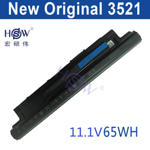 HSW original battery 65WH For DELL For INSPIRON 17R 5721,17 3721,15R 5521,15 3521,14R 5421,14 3421 VOSTRO 2521 2421  bateria