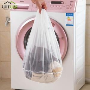 Image 1 - S M L Size Washing Laundry bag Socks Underwear Washing Machine ClothesClothing Care Foldable Net Filter Underwear Bra Protection