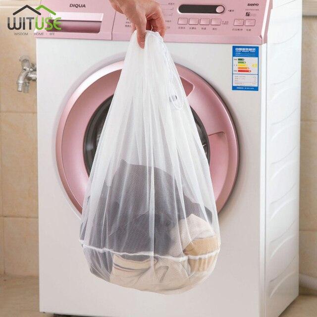 S M L Size Washing Laundry bag Socks Underwear Washing Machine ClothesClothing Care Foldable Net Filter Underwear Bra Protection