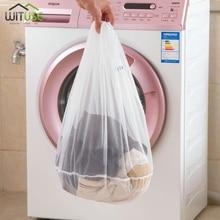 S m l tamanho saco de lavanderia de lavagem meias roupa interior máquina de lavar roupa clothesclothing cuidado dobrável filtro líquido roupa interior sutiã proteção