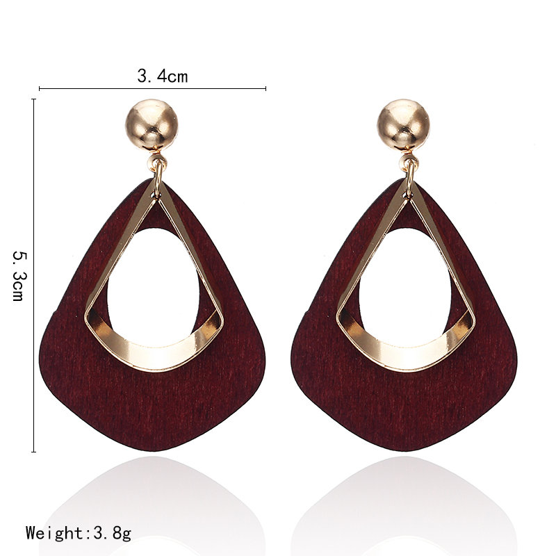 18 Retro women's fashion statement earring earrings for wedding party Christmas gift wholesale 3