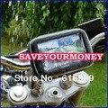 2 VERSIÓN navegación GPS FUNDA impermeable APOYO motocicleta GPS de navegación móvil bicicleta sostenedor impermeable caja DEL TELÉFONO A PRUEBA de agua