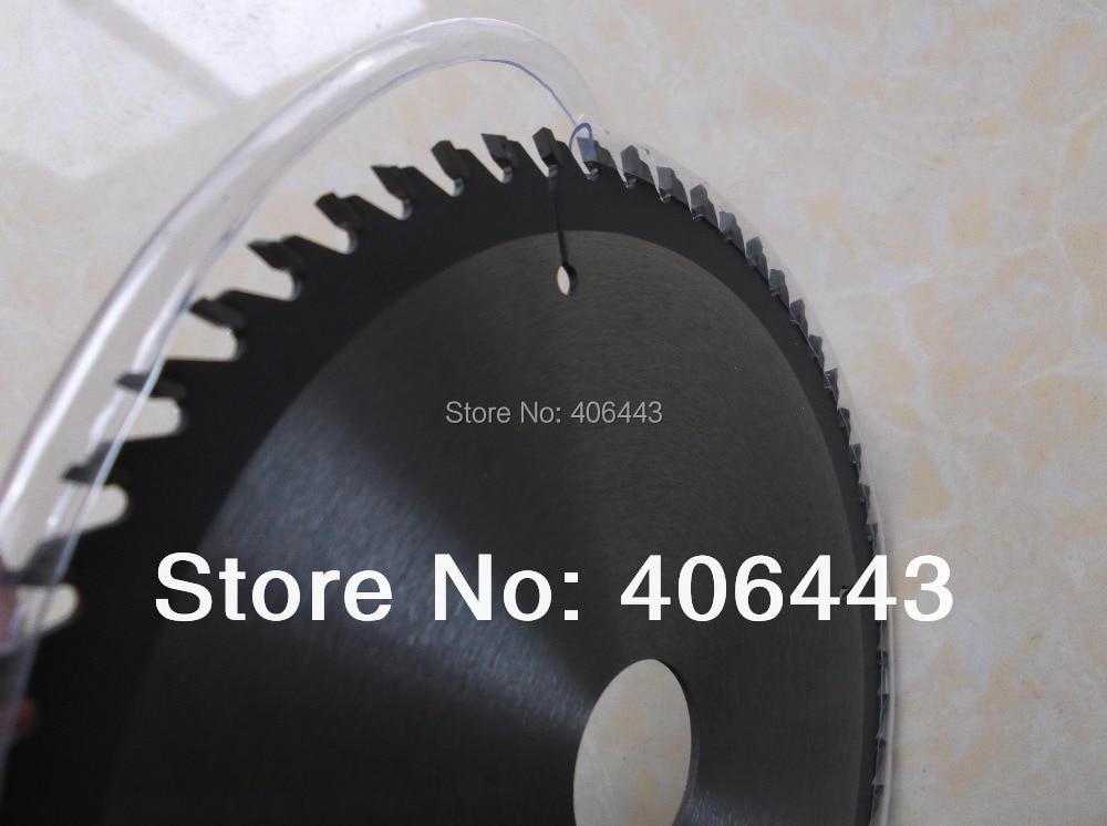 """10 """"professioneel hardmetalen zaagblad voor het snijden van melaminebord en spaanplaat 255 * 3.0 * 2.0 * 25.4mm * 120T ATB-tanden"""