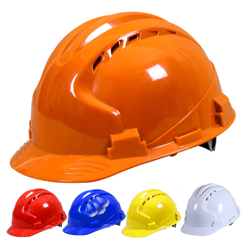 Safety Helmet Hard Hat Work Cap ABS Material Construction Site Protect Breathable waterproof Engineering Power Labor Helmet цена