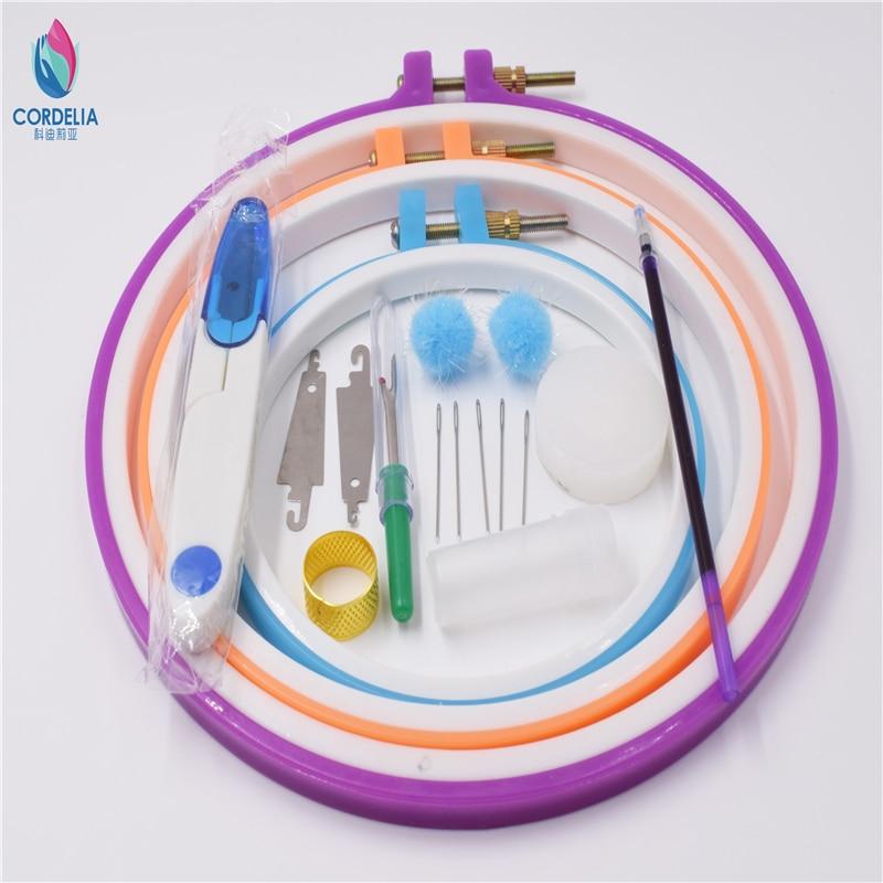 Zakka mode 13 17 20 cm rund kreuzstich rahmen sets mit hoops DIY ...