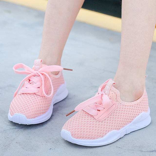 2018 Hot Sale Children's Shoes Spring Autumn Boys Girls Fashion Comfortable Breathable High-quality Anti-slip Kid Sport Shoes 4