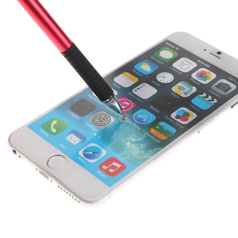1 pièces stylo capacitif téléphone tablette écran tactile stylo téléphone acier stylet haute précision peinture dessin stylo pour iPhone iPad tablette