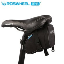 Roswheel on the back of bag saddle big saddlebag ability mountain bike quick release package multifunctional cushion