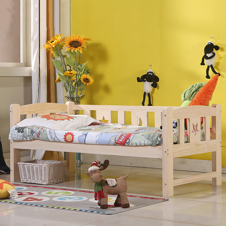 High Quality Solid Wood Children Bed Lengthen Widen Baby Wooden Bed Combine Big Bed Child Kids Baby CribHigh Quality Solid Wood Children Bed Lengthen Widen Baby Wooden Bed Combine Big Bed Child Kids Baby Crib
